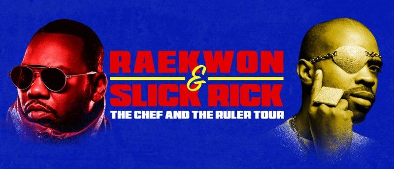 JUST ANNOUNCED: Raekwon & Slick Rick  Live InNZ
