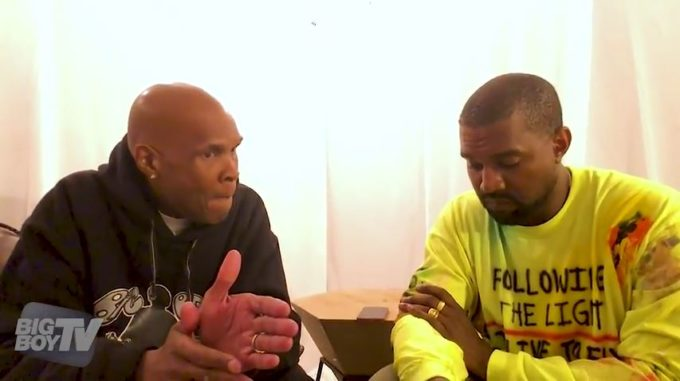 """Kanye West New Interview With Big Boy – """"I Made A Completely New Album AfterTMZ"""""""